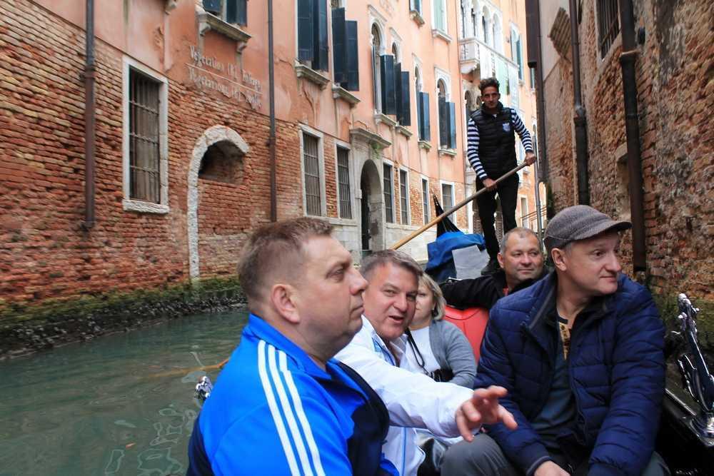 Деловая поездка в Италию