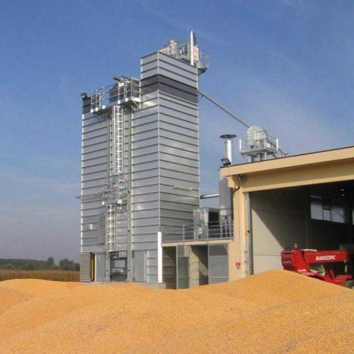 Зерносушилки стационарные