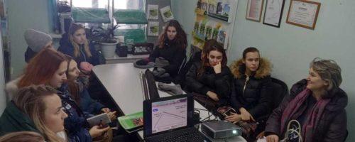 Специалист «Мустанг-Сибирь» рассказал студентам об особенностях кормления ремонтного молодняка.